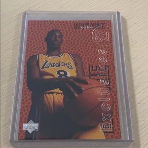 Kobe Bryant rookie exclusive card